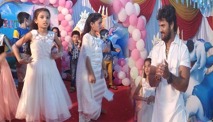 Sarso Ke sagiya Dance of Birthday Girl Kriti