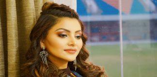 Urvashi rautela suffered in movie shooting