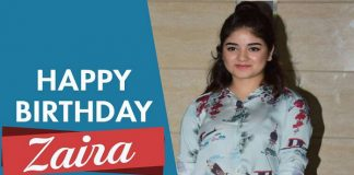 Zaira Wasim Birthday Today 23 oct 2017