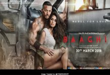 Baaghi 2 second look out by TIGER SHROFF