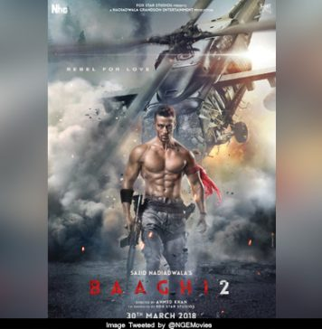 Here's presenting the first look of SajidNadiadwala's Baaghi2