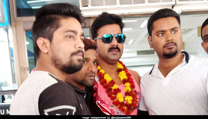 Pawan singh reached patna and love this place