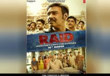 Raid another poster out with ajay devgan look
