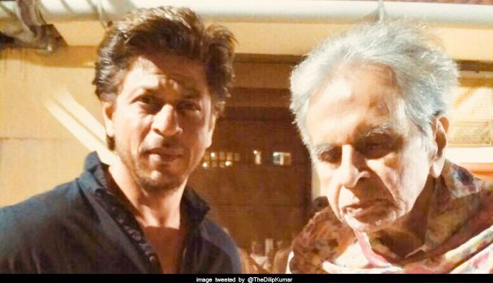 Shahrukh khan came to visit Saab at home