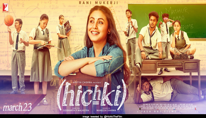 rani mukharjee Hichki movie new poster out now