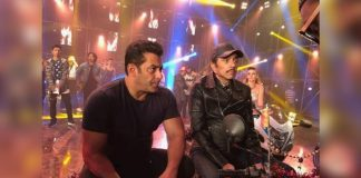 salman with dharmendra movie special song shooting