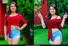 YouTube Queen Amrapali Dubey's Slim Dream Look Viral
