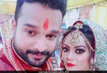 Lullia girl Nidhi Jha married Riteish Pandey