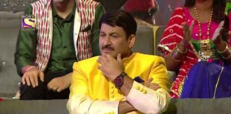Manoj Tiwari in the Colour of Indian Idol 10