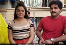 Pawan-Amrapali Dubey busy shooting for 'Sher Singh' in Jodhpur