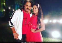 Photo of Pawan-Amrapali Dubey Viral from Sher Singh's Set