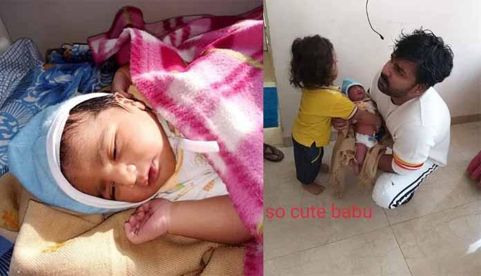 Pawan Singh home came Children Share Cute Photo