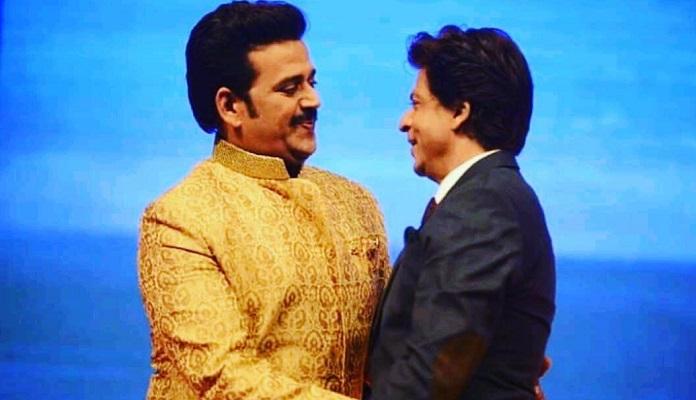 Shahrukh on the song Bhojpuri with Ravi Kishan